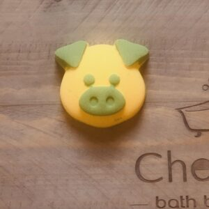Lemon Sherbet Pig Bath Bomb
