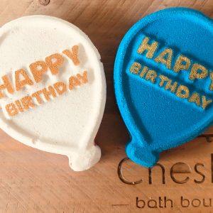 Birthday Balloon Bath Bomb