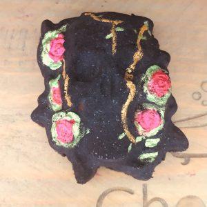 Skull and Roses Bath Bomb